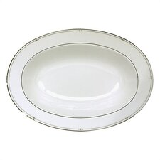 Precious Platinum Serving Dish