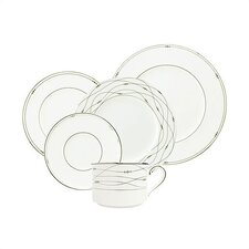 Precious Platinum Dinnerware Set