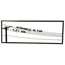 Birds On A Wire Decorative Wall Hanging (Set of 3)