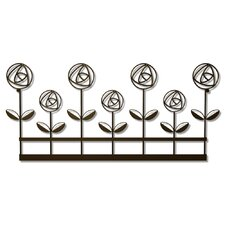 <strong>Plastec</strong> Rose Garden Wall Decor