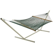 <strong>Pawleys Island</strong> Large Original DuraCord Rope Hammock with Stand