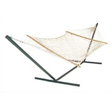 <strong>Pawleys Island</strong> Original Cotton Rope Hammock with Stand