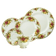 Old Country Roses 5 Piece Place Setting