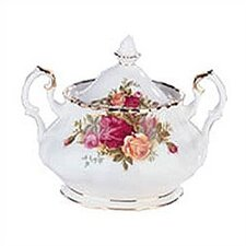 <strong>Royal Albert</strong> Old Country Roses 11 oz. Sugar Bowl with Lid