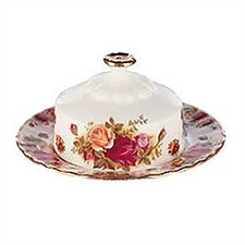 Old Country Roses Butter Dish