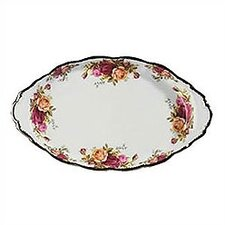 Old Country Roses Sugar & Cream Regal Serving Tray