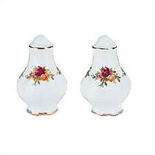 "<strong>Royal Albert</strong> Old Country Roses 4"" Salt and Pepper"