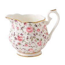 Rose Confetti Formal Vintage Creamer