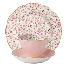 New Country Roses Confetti Teacup Set (Set of 3)