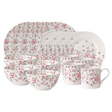 <strong>Royal Albert</strong> Rose Confetti Casual 16 Piece Dinnerware Set