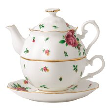 New Country Roses 2 PieceTea Set