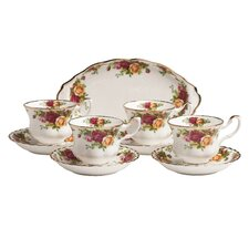 <strong>Royal Albert</strong> Old Country Roses Tea Set (Set of 9)