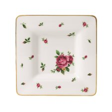 "New Country Roses Square 7"" Trinket Tray"