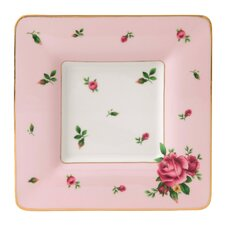 "<strong>Royal Albert</strong> New Country Roses Square 6.8"" Trinket Tray"