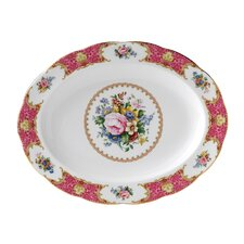 """Lady Carlyle 12.7"""" Oval Platter"""