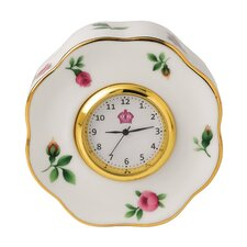 New Country Roses Clock