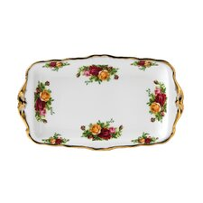 """Old Country Roses 6.75"""" Rectangular Sandwich Tray"""
