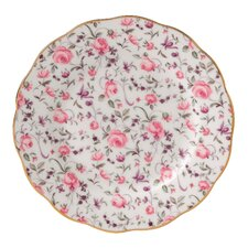 "Rose Confetti Formal Vintage 4.7"" Bread and Butter Plate"