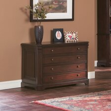 <strong>Wildon Home ®</strong> Cotati File Cabinet in Cherry