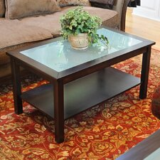 <strong>Wildon Home ®</strong> Bay Shore Coffee Table with Glass Top