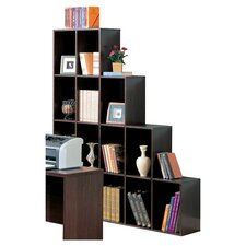 "<strong>Wildon Home ®</strong> Covina Cube 68"" Bookcase"