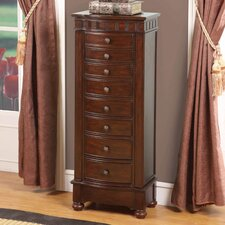 Murphy 8 Drawer Jewelry Armoire with Mirror