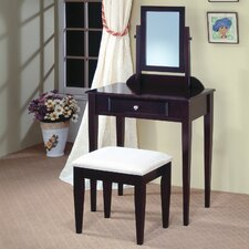<strong>Wildon Home ®</strong> Woodinville Vanity Set with Mirror