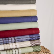 <strong>Wildon Home ®</strong> Winter Nights Cotton Flannel Sheet Set (Set of 4)