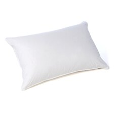 Polka Dot Soft Cotton Goose Down Pillow in White