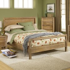 Linear King Panel Bed