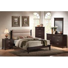 Morgan Queen Platform 5 Piece Bedroom Collection