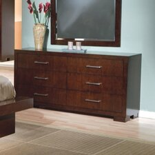 <strong>Wildon Home ®</strong> Jessica 6 Drawer Dresser