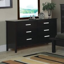 <strong>Wildon Home ®</strong> Newport 6 Drawer Dresser