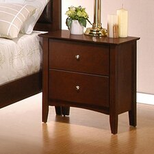 <strong>Wildon Home ®</strong> Stoneham 2 Drawer Nightstand