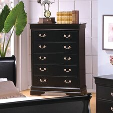 <strong>Wildon Home ®</strong> Thatcher 5 Drawer Chest