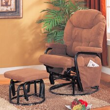 Gervais Recliner and Ottoman