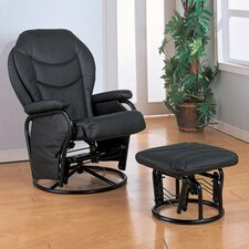 <strong>Wildon Home ®</strong> Glendale Glider Rocker and Ottoman