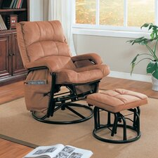 <strong>Wildon Home ®</strong> Goble Glider Rocker and Ottoman