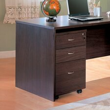 "<strong>Wildon Home ®</strong> Redondo Beach 27"" File Cabinet in Cappuccino"