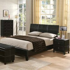 <strong>Wildon Home ®</strong> Retro Modern Queen Panel Bedroom Collection