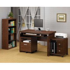 <strong>Wildon Home ®</strong> Castle Pines Standard Desk Office Suite