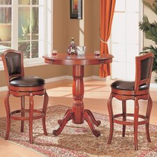 Lincoln Bar Table in Cherry (3 Piece Set)