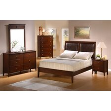 <strong>Wildon Home ®</strong> Manhattan Queen Panel Bedroom Collection