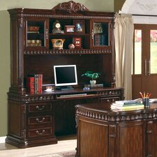 <strong>Wildon Home ®</strong> Corning Computer Desk with Hutch