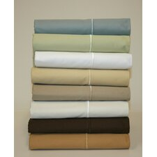 600 Thread Count Solid Sateen Sheet Set