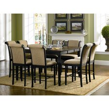 <strong>Wildon Home ®</strong> Hamilton 9 Piece Counter Height Dining Set