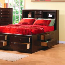 <strong>Wildon Home ®</strong> Hillary Storage Panel Bed