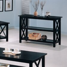 <strong>Wildon Home ®</strong> Independence Sofa Table in Cappuccino