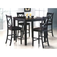 <strong>Wildon Home ®</strong> Jerome Counter Height Pub Table with Optional Stools