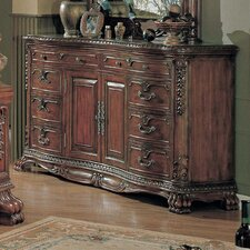 <strong>Wildon Home ®</strong> Kelsey 6 Drawer Combo Dresser